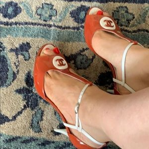 CHANEL Shoes - Chanel sandals size 38,5